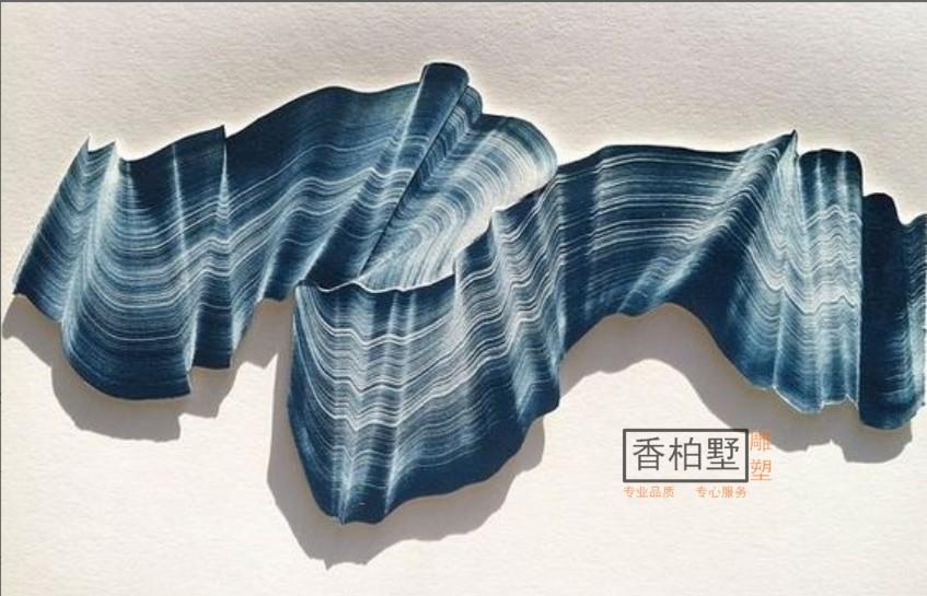 创意抽象现代金属铁艺油漆彩绘现代墙面挂饰背景工艺艺术雕塑摆件