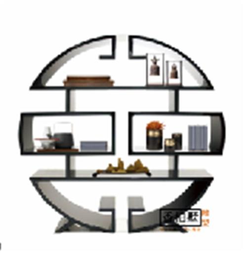玄关进门隔断新款现代简约门厅间厅柜客厅装饰花架屏风置物架饰品