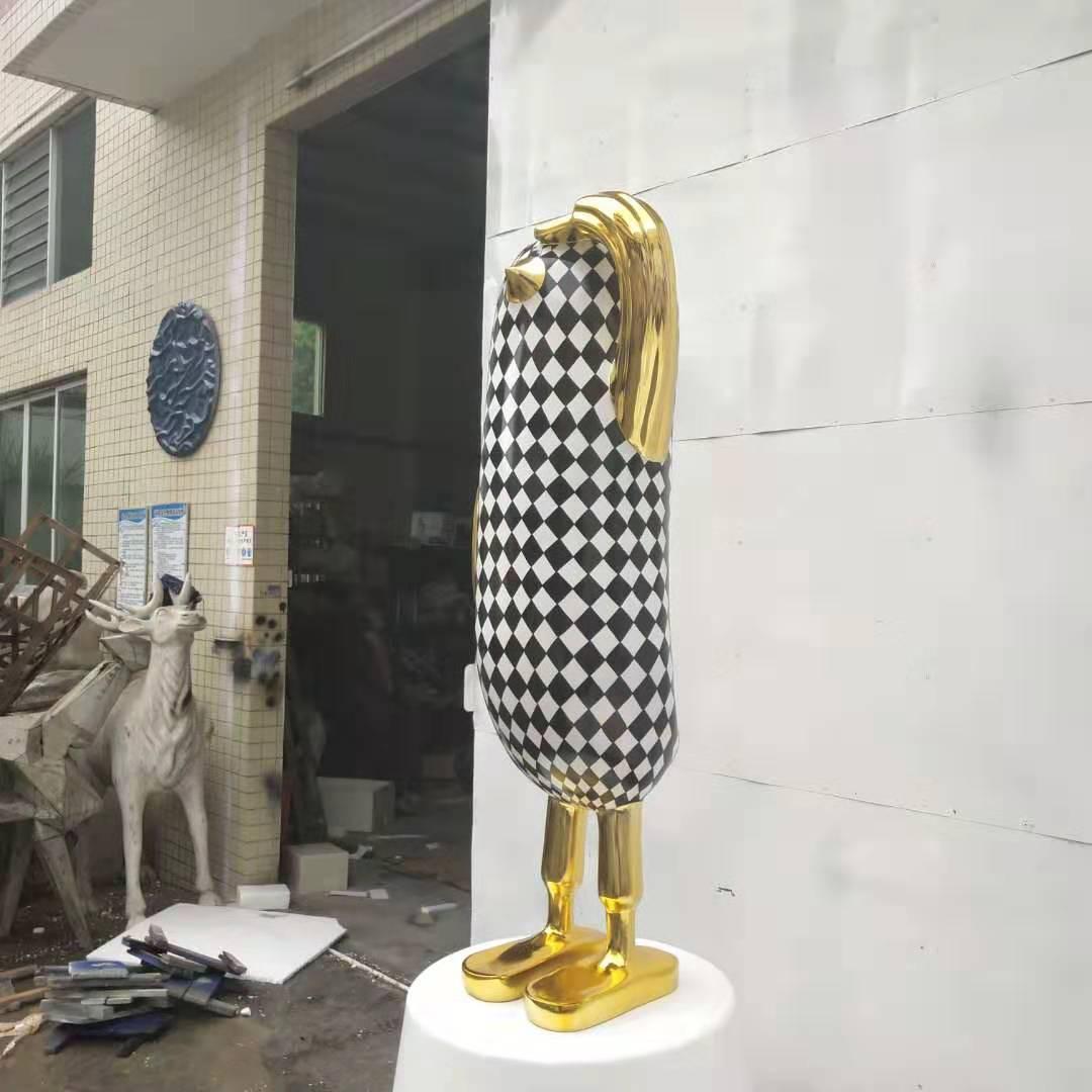 玻璃钢制作鸭子