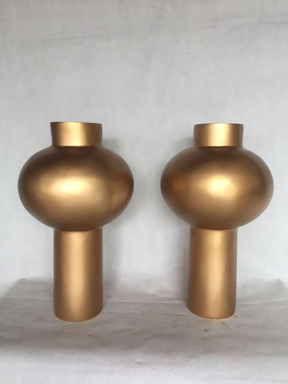 玻璃钢仿铜效果