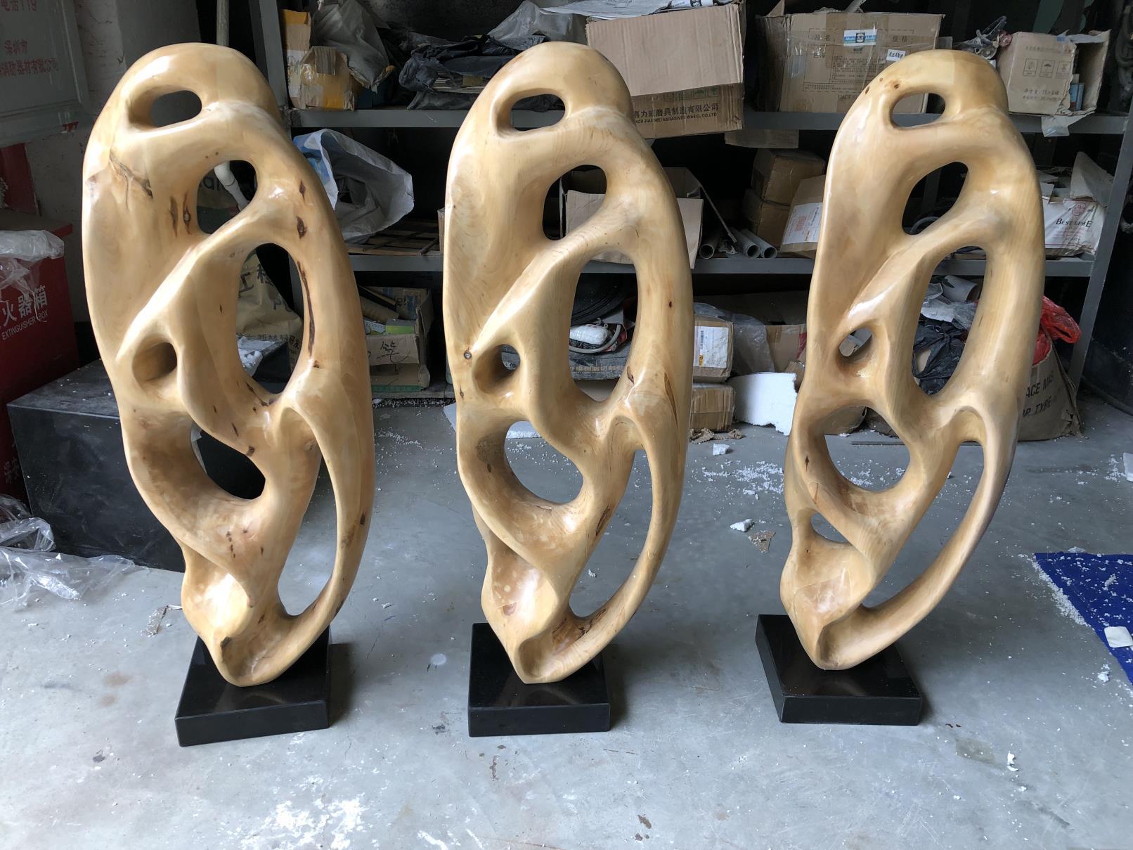 木雕材质摆件02