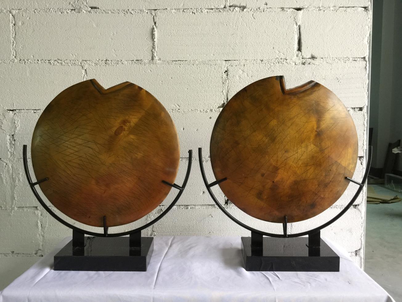 金属框架木作造型